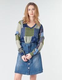 Textil Mulher Tops / Blusas Cream CLODIE Azul