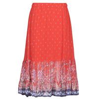 Textil Mulher Saias Cream NALITA Vermelho