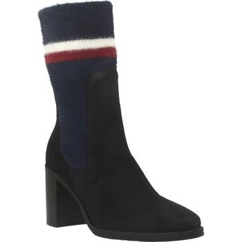 Sapatos Mulher Botins Tommy Hilfiger FW0FW04497 Azul