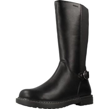 Sapatos Mulher Botas Geox J ECLAIR GIRL Preto