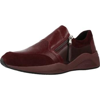 Sapatos Mulher Slip on Geox D OMAYA Vermelho