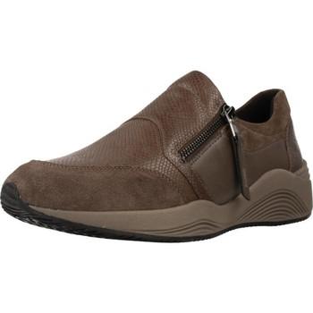 Sapatos Mulher Slip on Geox D OMAYA Marron