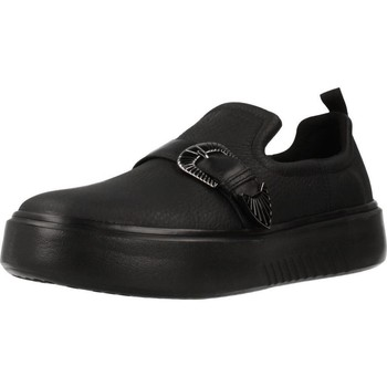 Sapatos Mulher Slip on Geox D NHENBUS Preto
