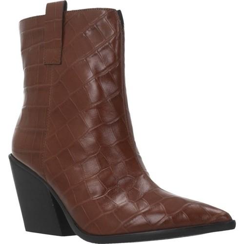 Sapatos Mulher Botins Elvio Zanon EK2606X Marron