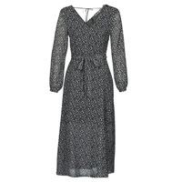 Textil Mulher Vestidos compridos Ikks BQ30085-03 Preto