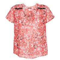 Textil Mulher Tops / Blusas Ikks BQ11145-37 Laranja