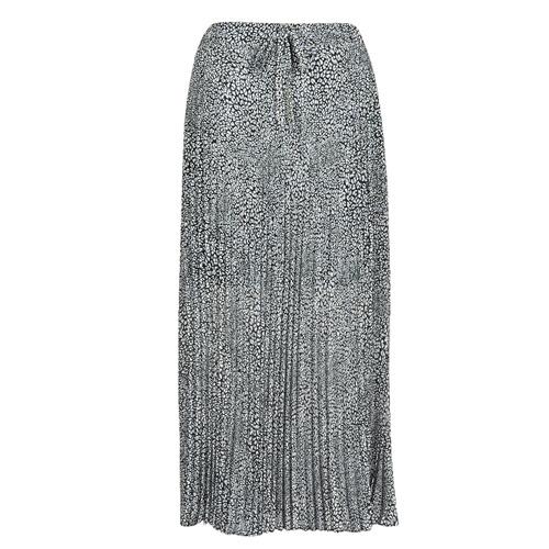 Textil Mulher Saias Ikks BQ27075-30 Preto / Branco