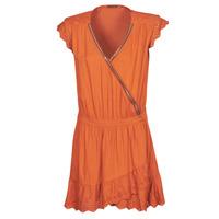 Textil Mulher Vestidos curtos Ikks BQ30155-75 Laranja