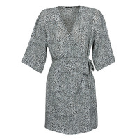 Textil Mulher Vestidos curtos Ikks BQ30415-03 Preto / Branco