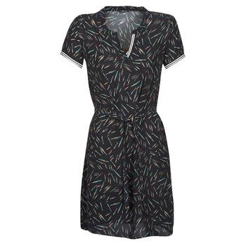 Textil Mulher Vestidos curtos One Step ROSA Preto