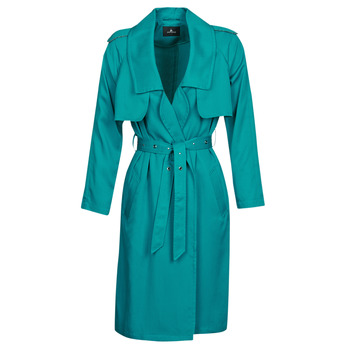 Textil Mulher Trench One Step DAWY Azul