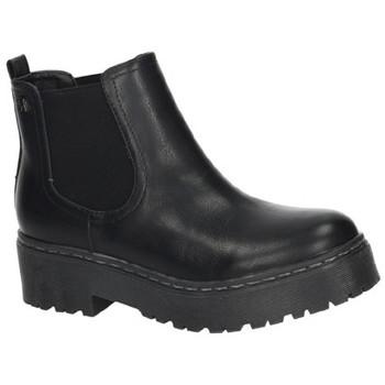 Sapatos Mulher Botas baixas Refresh  Preto