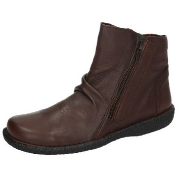 Sapatos Mulher Botas baixas Bartty  Castanho