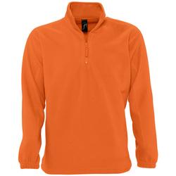 Textil Casaco polar Sols NESS POLAR UNISEX Naranja
