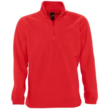 Textil Casaco polar Sols NESS POLAR UNISEX Rojo