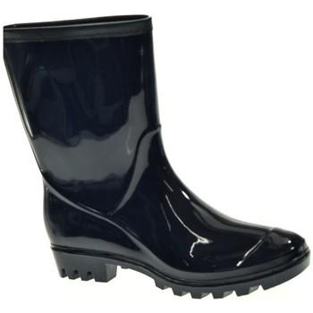 Sapatos Mulher Botas de borracha Kelara 91101 Azul