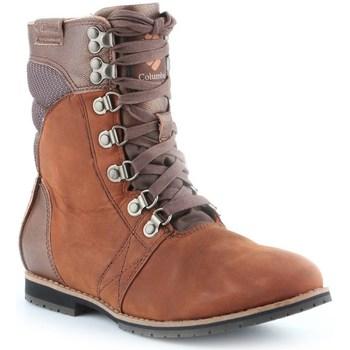 Sapatos Mulher Botas baixas Columbia Twentythird Ave WP Mid Castanho