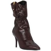Sapatos Mulher Botas Elvio Zanon COBRINO PRUGNA Rosso