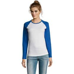 Textil Mulher T-shirt mangas compridas Sols MILKY LSL SPORT Multicolor
