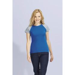 Textil Mulher T-Shirt mangas curtas Sols MILKY BICOLOR SPORT Multicolor