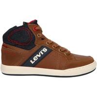 Sapatos Criança Sapatilhas de cano-alto Levi's VCLU0030S NEW MADISON Marr?n