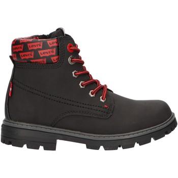 Sapatos Criança Botas baixas Levi's VFOR0020S FORREST 0003 BLACK Negro