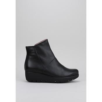 Sapatos Mulher Botas baixas Sandra Fontan WYLOW Preto