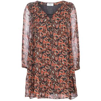 Textil Mulher Vestidos curtos Betty London LETICIA Preto / Vermelho