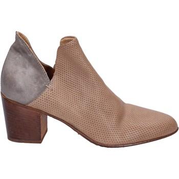 Sapatos Mulher Botas baixas Moma BR979 Cinza