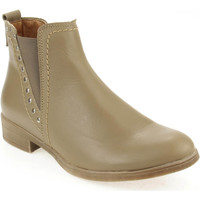 Sapatos Mulher Botas baixas Walkwell U Ankle boots CASUAL Taupe