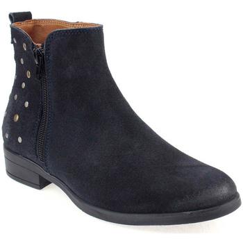 Sapatos Mulher Botas baixas Walkwell U Ankle boots CASUAL Azul