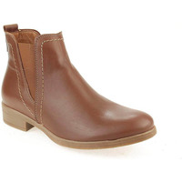 Sapatos Mulher Botas baixas Walkwell U Ankle boots CASUAL Camel