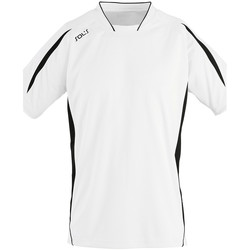 Textil Homem T-Shirt mangas curtas Sols MARACANA 2 SSL SPORT Blanco