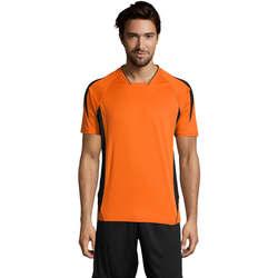 Textil Homem T-Shirt mangas curtas Sols MARACANA 2 SSL SPORT Naranja