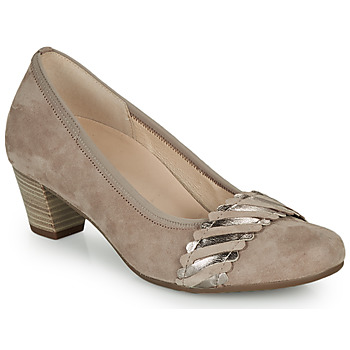 Sapatos Mulher Escarpim Gabor  Bege