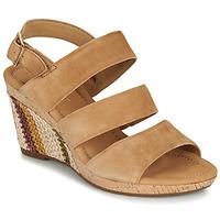 Sapatos Mulher Sandálias Gabor KARAMBA Castanho