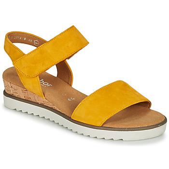 Sapatos Mulher Sandálias Gabor KARIBITOU Amarelo