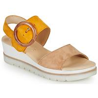 Sapatos Mulher Sandálias Gabor KOKREM Bege / Amarelo