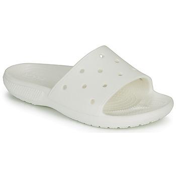 Sapatos chinelos Crocs CLASSIC CROCS SLIDE Branco
