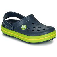 Sapatos Criança Tamancos Crocs CROCBAND CLOG K Marinho / Verde