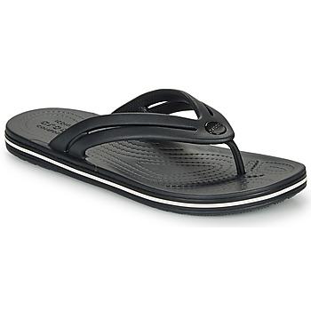 Sapatos Mulher Chinelos Crocs CROCBAND FLIP W Preto