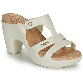 Sapatos Mulher Chinelos Crocs CYPRUS V HEEL W Branco