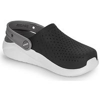 Sapatos Criança Tamancos Crocs LITERIDE CLOG K Preto / Branco