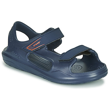 Sapatos Criança Sandálias Crocs SWIFTWATER EXPEDITION SANDAL K Marinho
