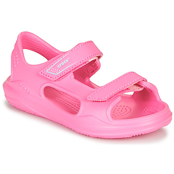 Sapatos Rapariga Sandálias desportivas Crocs SWIFTWATER EXPEDITION SANDAL K Rosa
