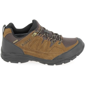 Sapatos Homem Sapatos de caminhada Aigle Vedur Low MTD Marron Castanho