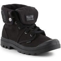 Sapatos Homem Sapatilhas de cano-alto Palladium Manufacture Baggy Preto