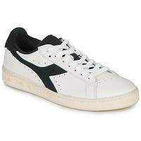 Sapatos Sapatilhas Diadora GAME L LOW USED Branco / Preto