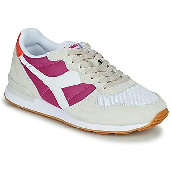 Sapatos Mulher Sapatilhas Diadora CAMARO Bege / Rosa