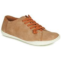 Sapatos Mulher Sapatos Camper PEU CAMI Bege / Escuro